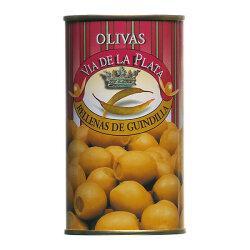 Grüne Oliven gefüllt mit Peperonipaste 350g aus...