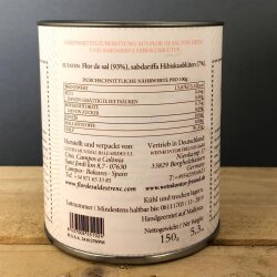 Flor de Sal Hibiscus 150g / Salz aus Mallorca