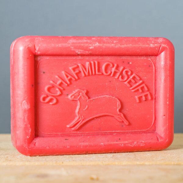 Ovis Schafmilchseife Granatapfel 100g eckig