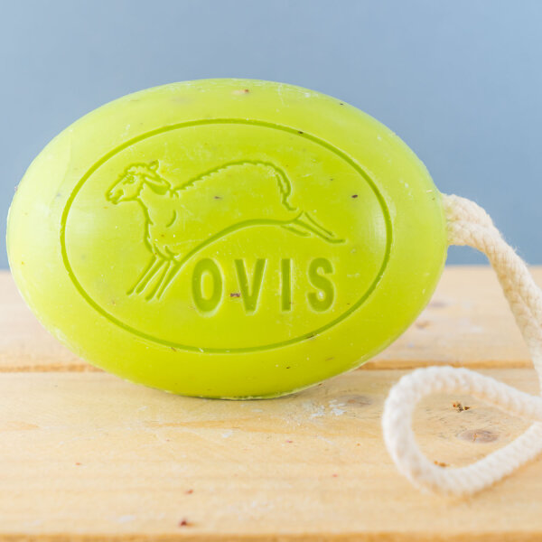 Ovis Schafmilch Duschseife Eisenkraut 200g / Kordelseife