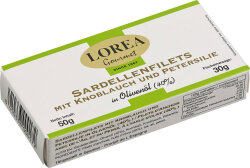 50g Sardellenfilets mit Knoblauch und Petersilie