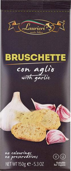 150g Bruschettine con Aglio aus Italien / Brotscheiben mit Knoblauch