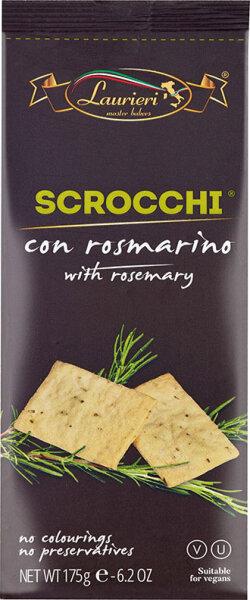 175g Scrocchi con Rosmarino aus Italien / Kräcker mit Rosmarin