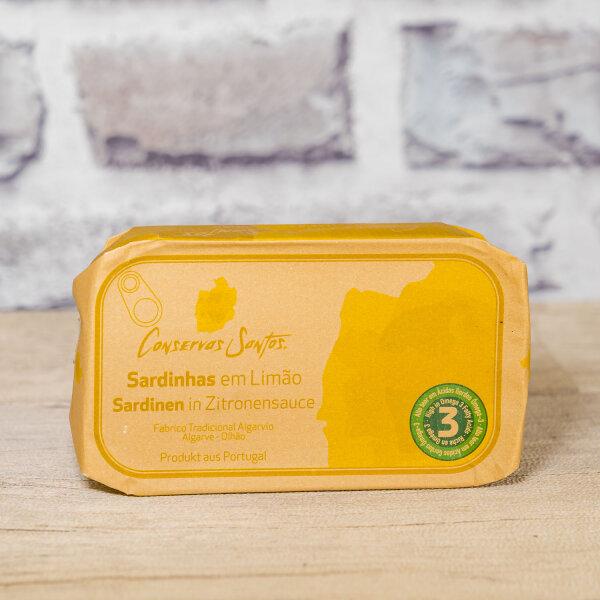 120g Sardinen in Zitronensauce aus Portugal