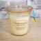 Rapswachskerze im XL WECK®-Glas mit ätherischem Öl Vanille-Lavendel