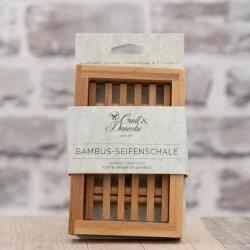 Bambus Seifenschale eckig 125 x 85 mm von Croll &...