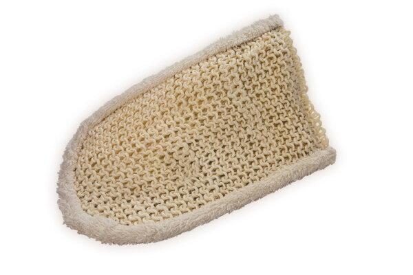 Massagehandschuh aus Sisal/Frottée 220 x 130 mm von Croll & Denecke
