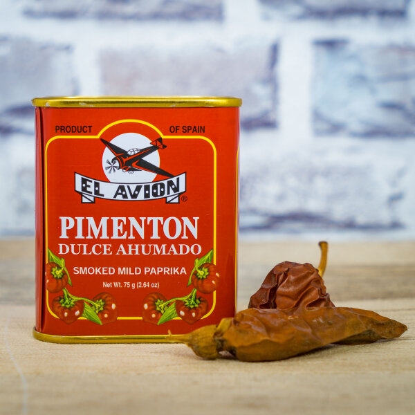Süßes Paprikapulver, geräuchert 75g von El Avion
