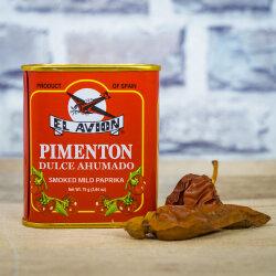 Süßes Paprikapulver, geräuchert 75g von...
