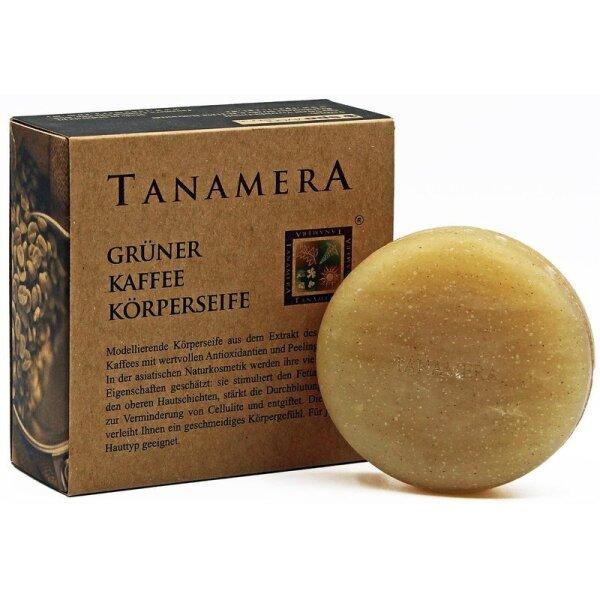 Tanamera® Grüner Kaffee Körperseife 100g
