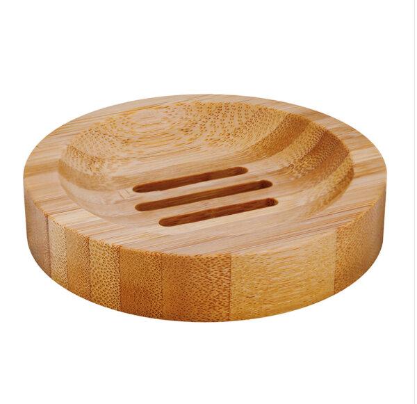 Bambus Seifenschale rund Seifenablage von Croll & Denecke