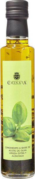 La Chinata Natives Olivenöl extra mit Basilikum 250 ml Spanien