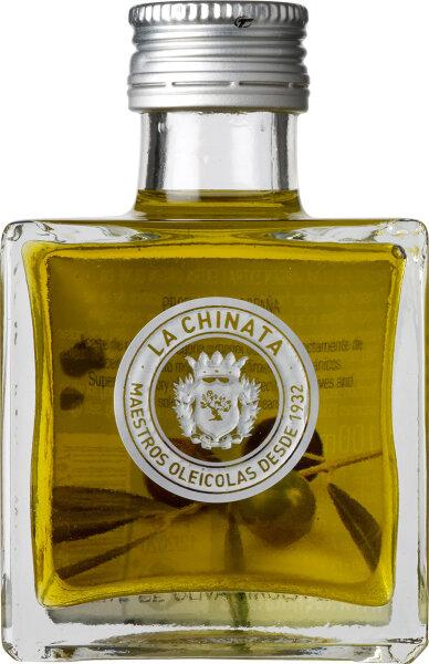 La Chinata Natives Olivenöl Extra in quadratischer Gourmet-Flasche 100 ml Spanien