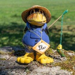 "Tangoo Keramik Rabe ""Theo"" für den Garten..."