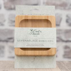 Seifenablage / Seifenablage aus Bambus viereckig von...