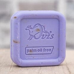 Ovis Schafmilchseife Palmölfrei Lavendel eckig 100g