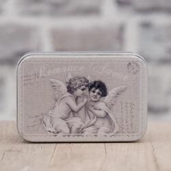 Blechdose / Seifenablage / Aufbewahrungsbox Engel 10,2 x...