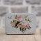 Blechdose / Seifenablage / Aufbewahrungsbox Rose 10,2 x 7 x 4,6 cm