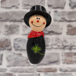 Tangoo Keramik Schornsteinfeger mit rotem Halstuch klein...