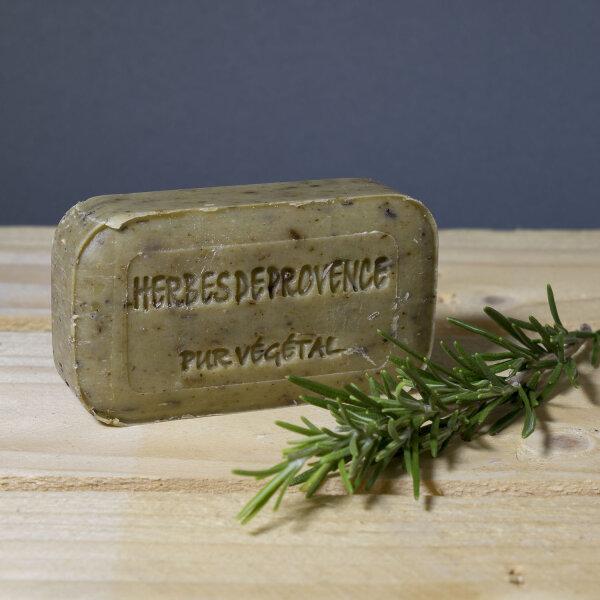 Kräuter Seife von Savon de Bormes 100g / Manufakturseife aus Frankreich / Provence