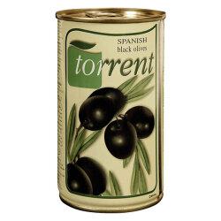 Schwarze Oliven mit Kern 350g aus Spanien