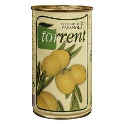 Grüne Oliven mit Kern aus Spanien 350g